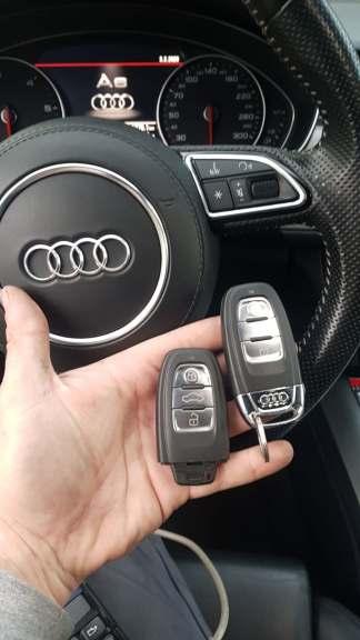 kodowanie kluczy samochodowych Audi
