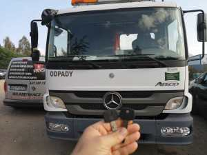 Odtworzenie klucza z immobilizerem - Mercedes Atego