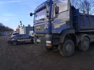 Otwieranie ciężarówki MAN - zatrzaśnięte kluczyki