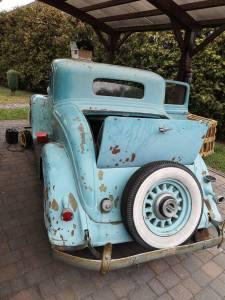Regeneracja stacyjki - samochód zabytkowy Plymouth 1933