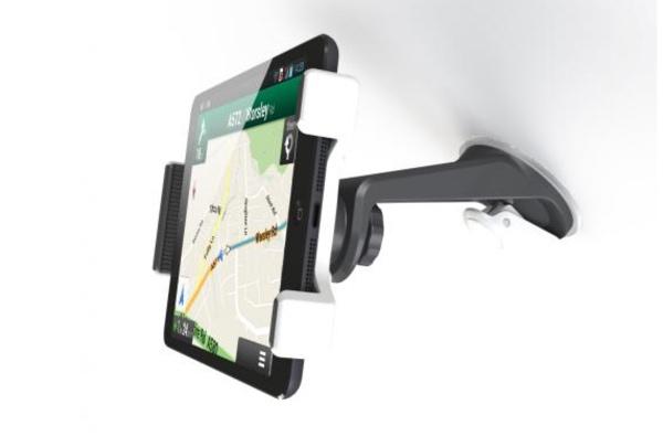 gute Tablethalterung im Auto LKW Wohnmobil für iPad, Samsung, Windows Tablet