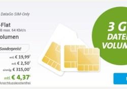 günstiger Surftarif im Vodafone Netz unter 5 Euro im Monat