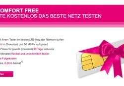 Telekom LTE netz kostenlos testen 5 GB