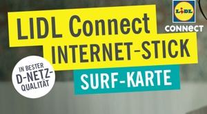 LIDL Connect Surf Karte