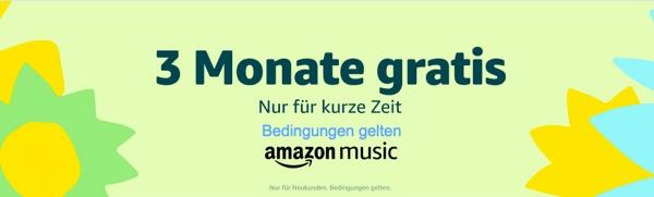 Amazon Music Unlimeted kostenlos testen