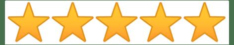 Amazon 5 Star 1037x200