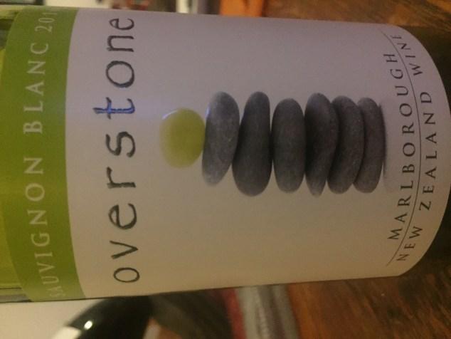 Label from bottle of Overstone Marlborough Sauvignon Blanc 2016