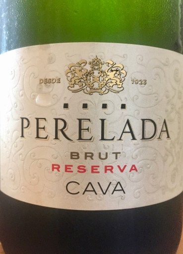 Label from Bottle of Perelada Brut Reserva Cava NV