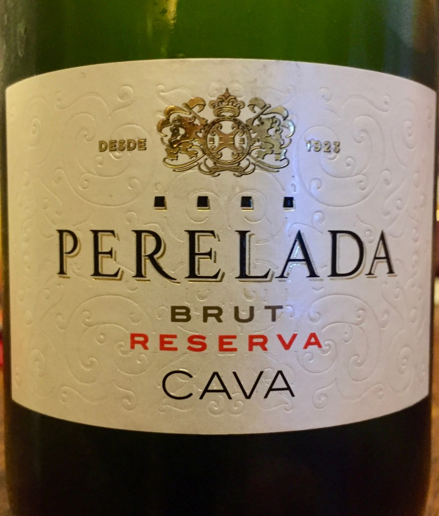 label from bottle of Perelada Brut Reserva Cava N.V.
