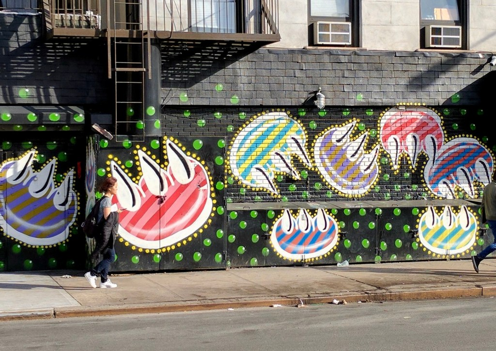 It's survival in the City: Urban Art that has survived the years on the Streets of New York