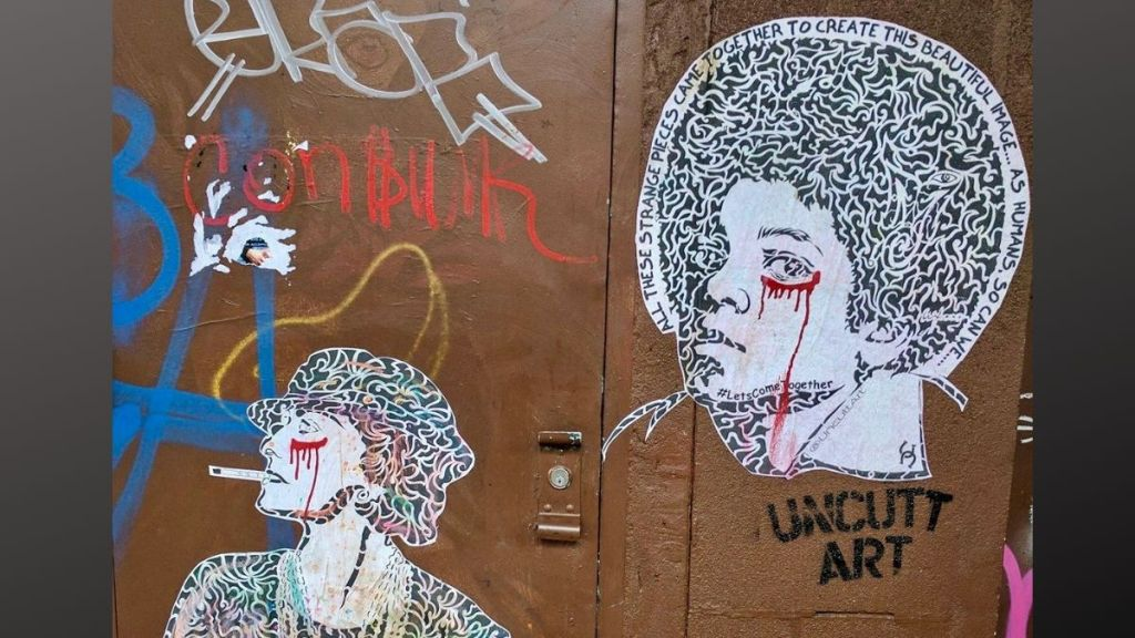 UncuttArt, and a Sampling of NYC's StreetArt