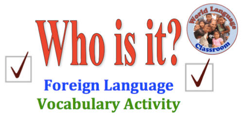 Foreign Language Speaking Activity that Involves the Entire Class wlteacher.wordpress.com