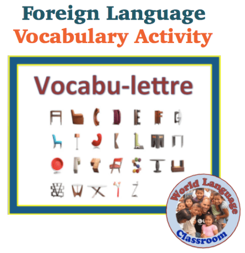 Foreign Language Small Group Vocabulary Review Activity (French, Spanish) wlteacher.wordpress.com