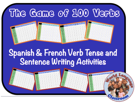 Spanish & French Verb Tense and Sentence Writing Powerpoint Activities wlteacher.wordpress.com