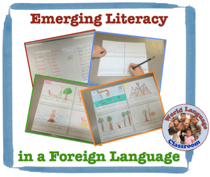 Emerging Literacy in a Foreign (World) Language. (French, Spanish) wlteacher.wordpress.com