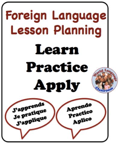 Foreign (World) Language Lesson Planning (French, Spanish) wlteacher.wordpress.com