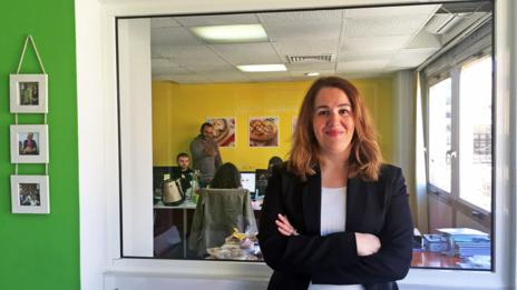 Hala Labaki is a success story in the Middle East. (Credit: Courtesy Hala Labaki)