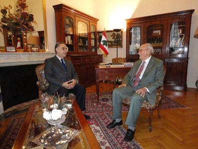 khalil karam et Alain decaux