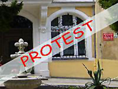 DPS w Nielestnie protestuje