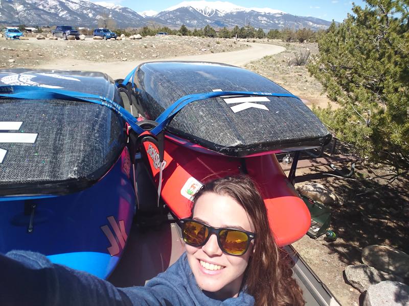 Kajakarze z nad Bobru w Colorado