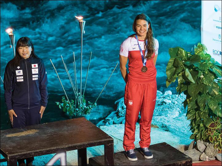 Mamy pierwszy kobiecy medal Mistrzostw Świata we freestyle'u kajakowym