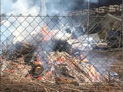 Gigantyczna spalarnia odpadów na terenie byłego zakładu komunalnego