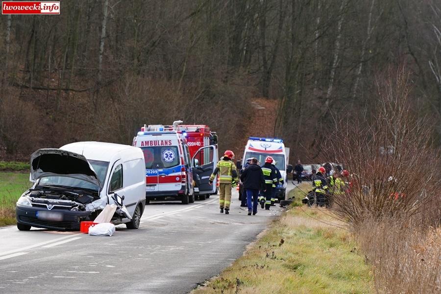 Wypadek we Wleniu.