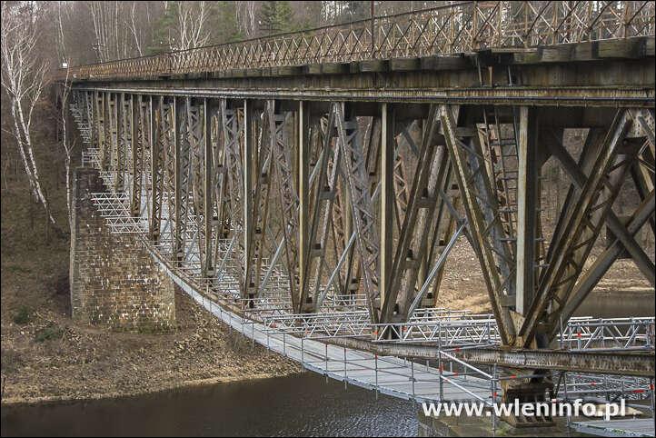 Radni w obronie mostu kolejowego w Pilchowicach