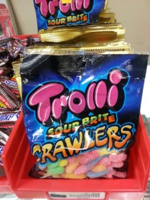 Enjoy Trolli Sour Brite Crawlers with Dirt Pudding or inside homemade Ice Pops! Grab a bag for $1.49!