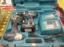 We've dropped the price again on the Factory Refurbished Makita Drill Set, from $169.99 to **NOW $159.99! ** The best value tool set for dad's who know a thing about power tools!
