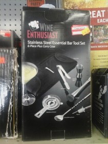 If Dad is more of a wine enthusiast, he'll find this Stainless Steel Essential Bar Tool Set quite a thoughtful gift! **Our price: $9.99!** (Retail $29.99)