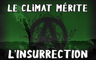 stickers climat mérite l'insurrection