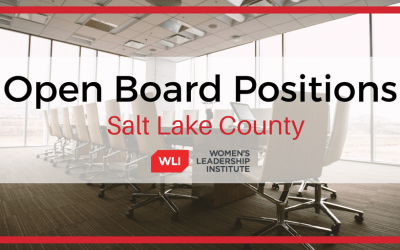 October 2019 Salt Lake County Open Board Positions