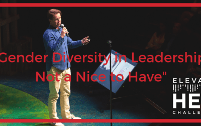 """Gender Diversity in Leadership: not a nice to have"" with Nate Quigley, Chatbooks"