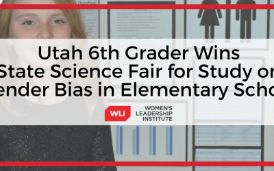 Utah 6th Grade Student Wins State Science Fair for Study on Gender Bias in Elementary School