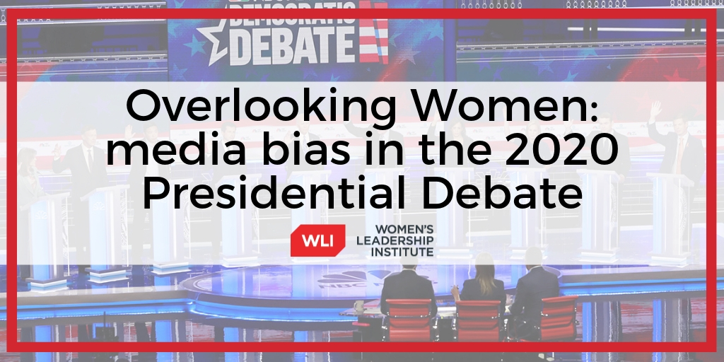 Overlooking Women: media bias in the 2020 Presidential Debate