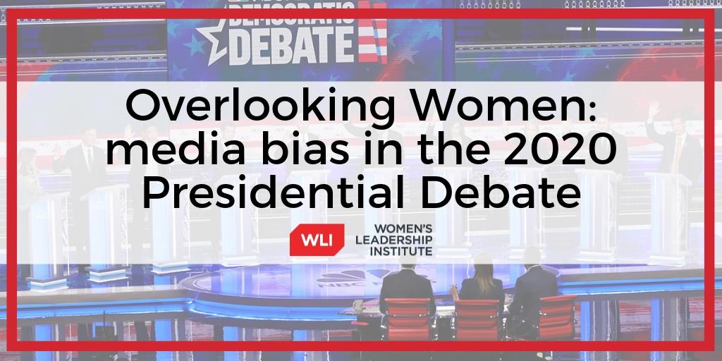 Overlooking Women: media bias in the 2020 Presidential Debate