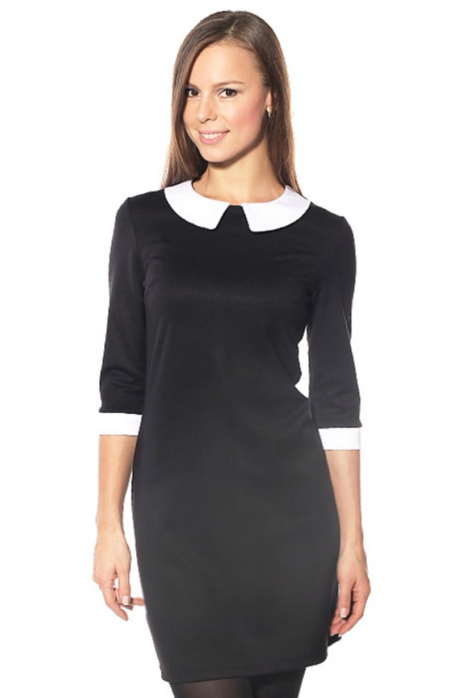 abff06f2b5a5 Originálne kancelárske šaty. Rukáv a ramená. Šaty so sukňou-slnkom