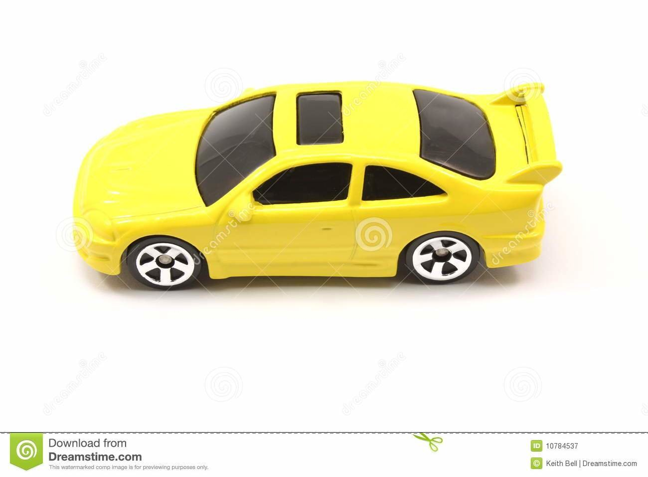 New Yellow Toy Car Coupe Royalty Free Stock Photography On This Month