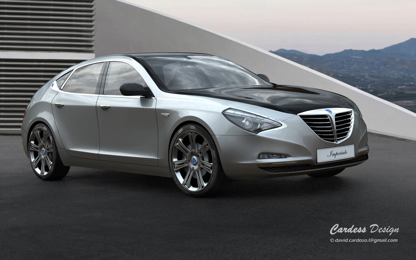 New Lancia Imperiale Concept Autoomagazine On This Month