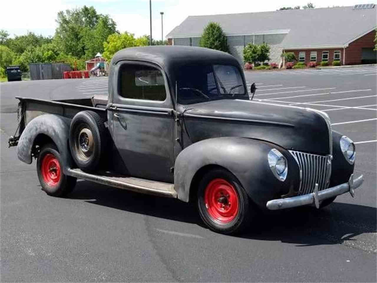 New 1940 Ford Pickup For Sale Classiccars Com Cc 993278 On This Month Original 1024 x 768