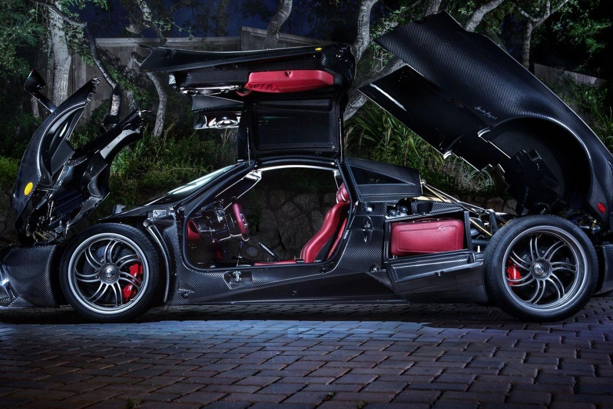 New Supercar Designer Horacio Pagani S Latest Creation The On This Month