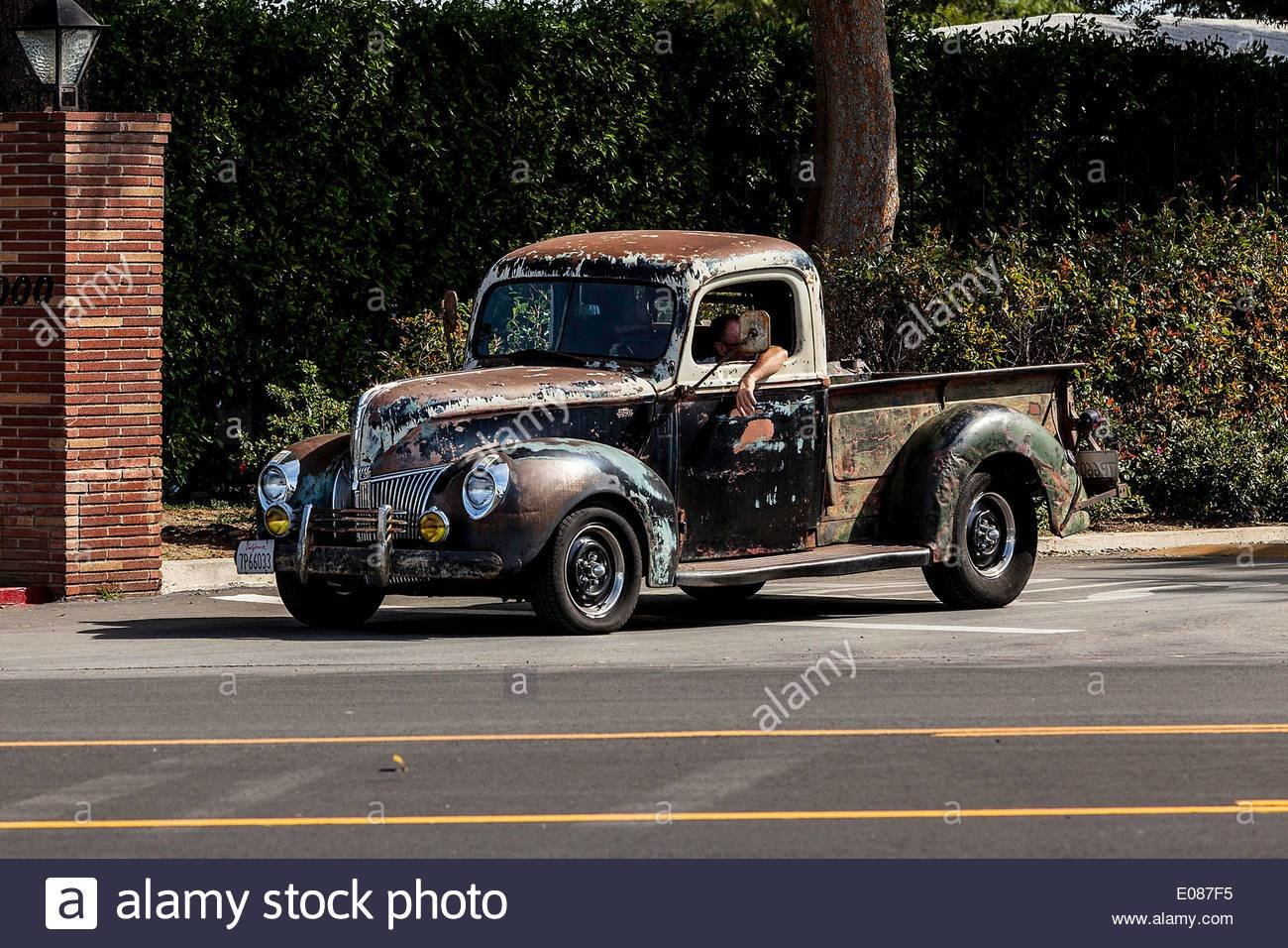 New A 1940 Ford Truck Stock Photo 69023001 Alamy On This Month Original 1024 x 768