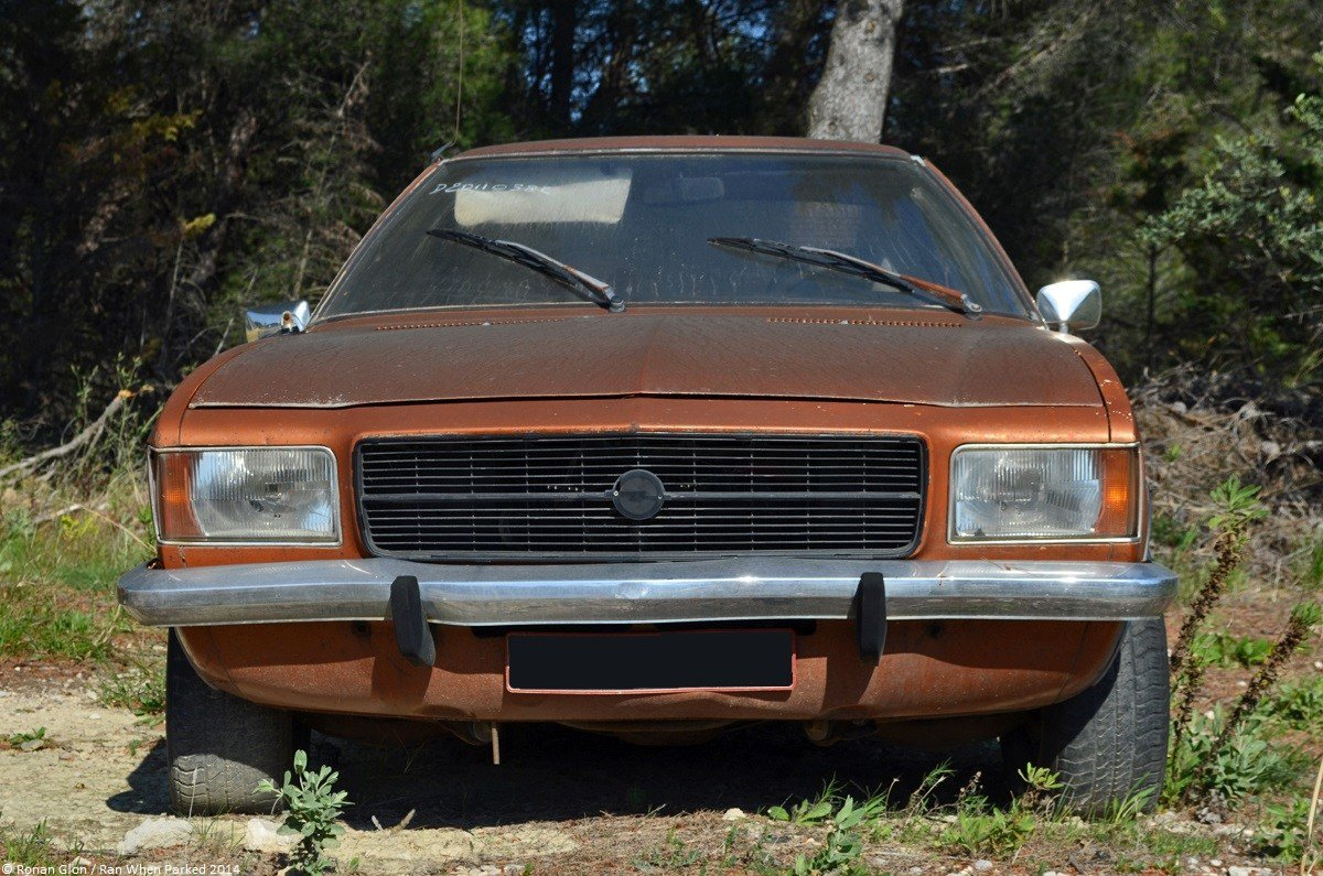 New Car Lot Find Opel Rekord D Coupe Ran When Parked On This Month