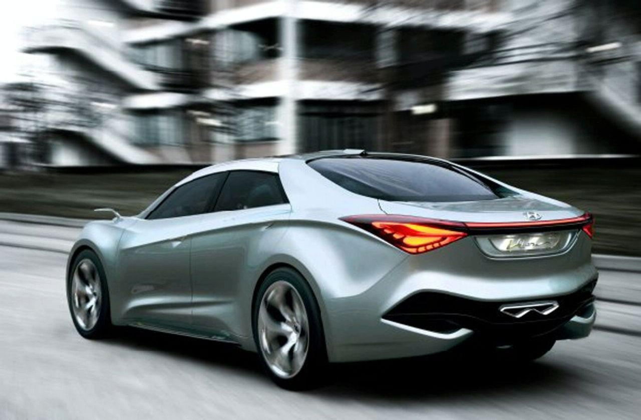 New Hyundai I Flow Hed 7 Hybrid Concept Revealed In Geneva On This Month