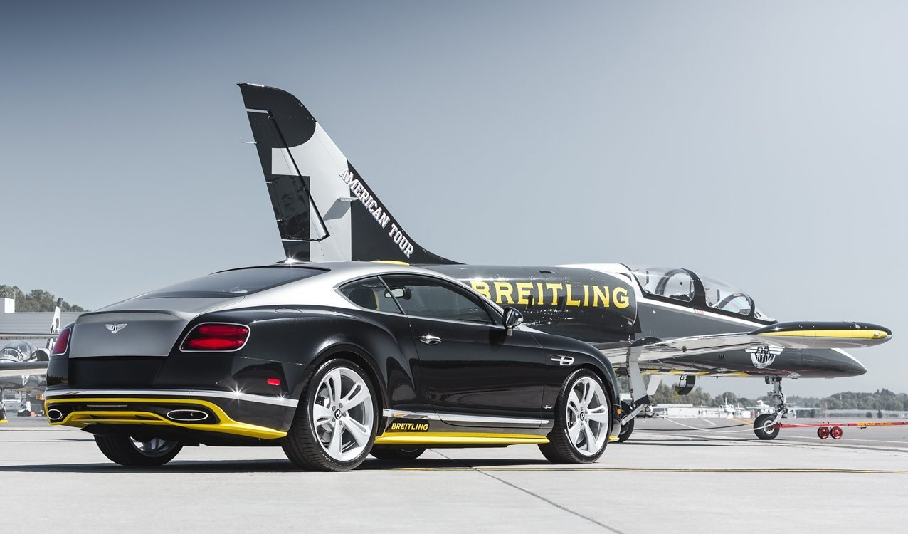 New Extremely Rare Bentley Continental Speed Breitling Jet On This Month