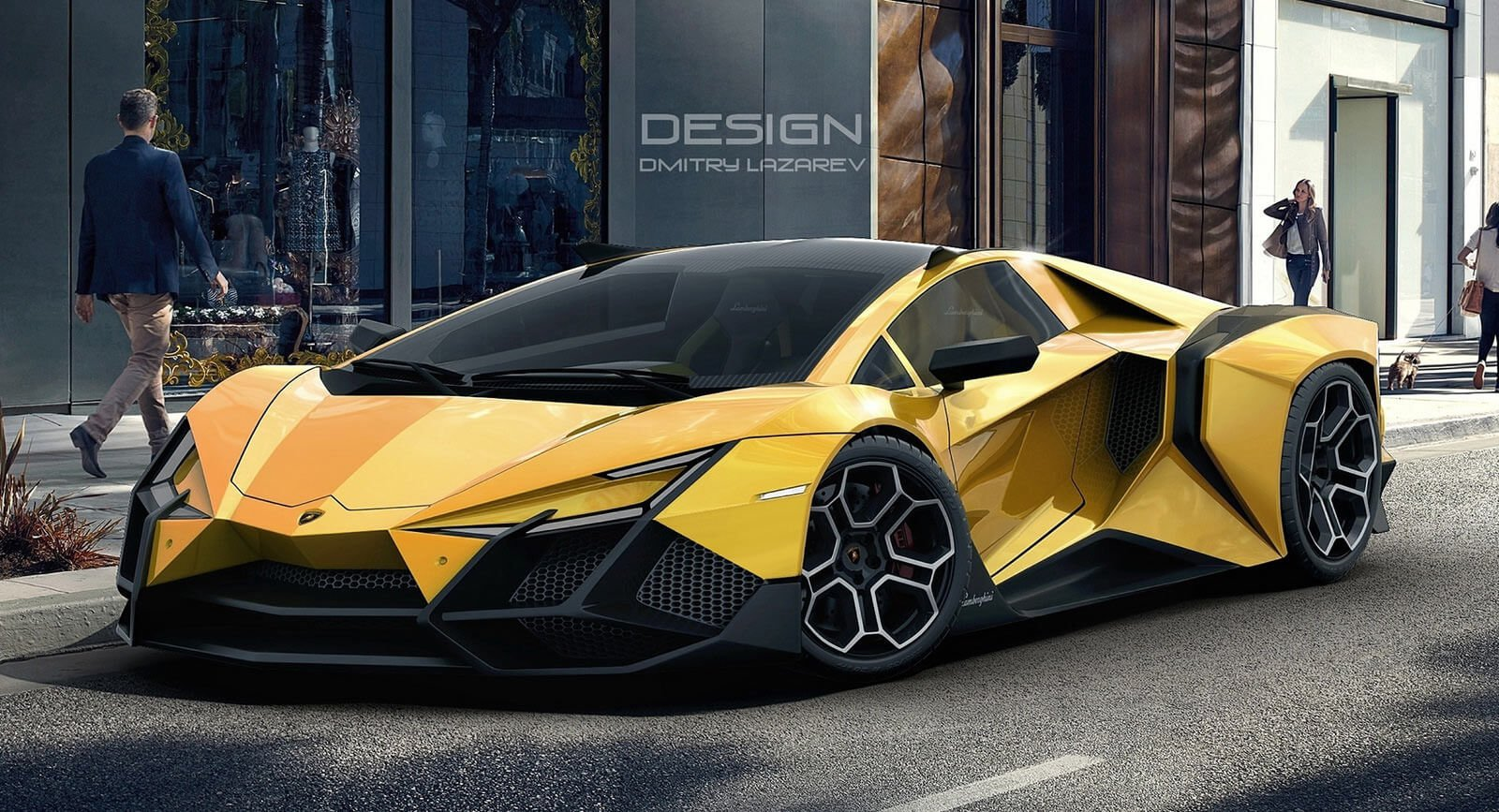 New The Lamborghini Forsennato Would Be A Proper Raging Bull On This Month