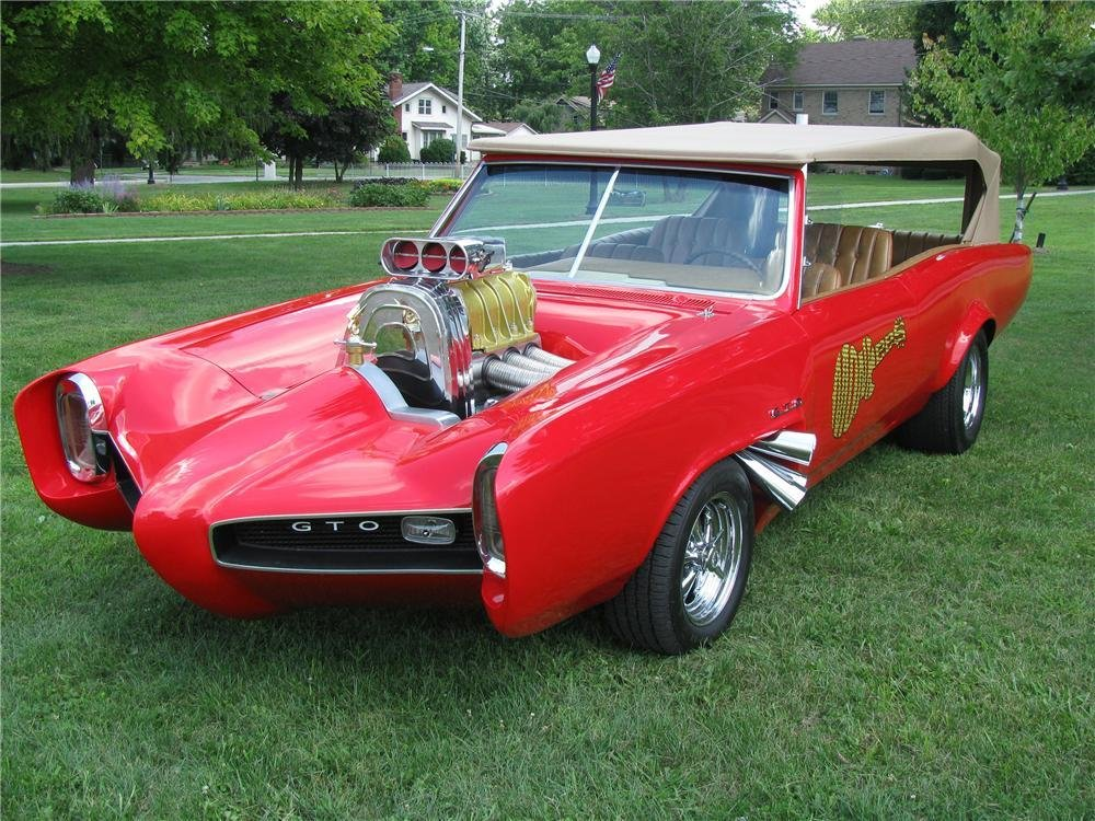 New 1966 Pontiac Monkees Car Replica On This Month