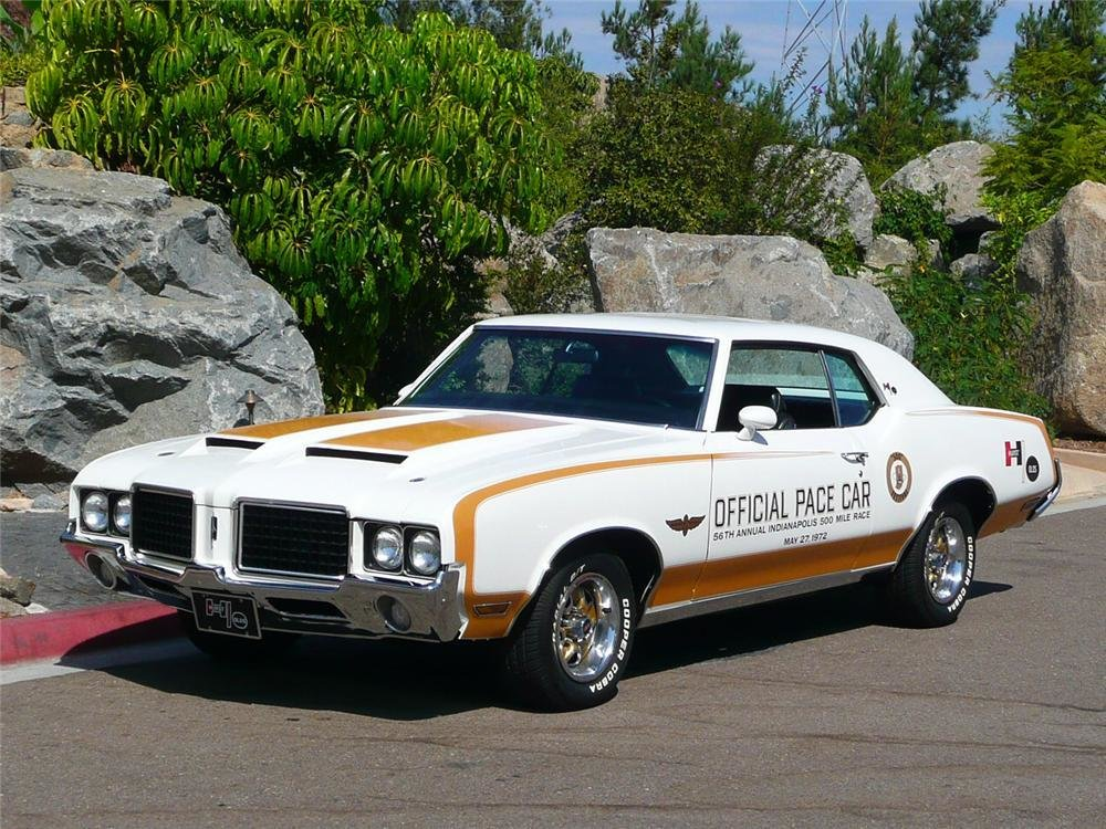 New 1972 Oldsmobile Hurst Pace Car Edition Coupe On This Month