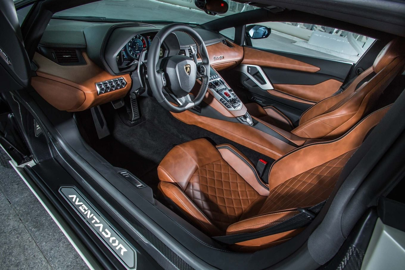 New 2018 Lamborghini Aventador S First Drive Review On This Month